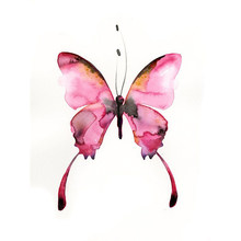 Full Square drill 5D DIY Diamond painting Pink butterfly Diamond Embroidery Mosaic Cross Stitch Rhinestone decoration gift YY(China)