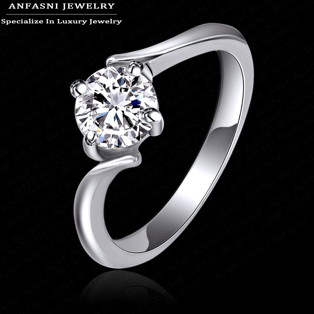 Healthy jewelry women rings real platinum rose gold plated for What is platinum jewelry made of