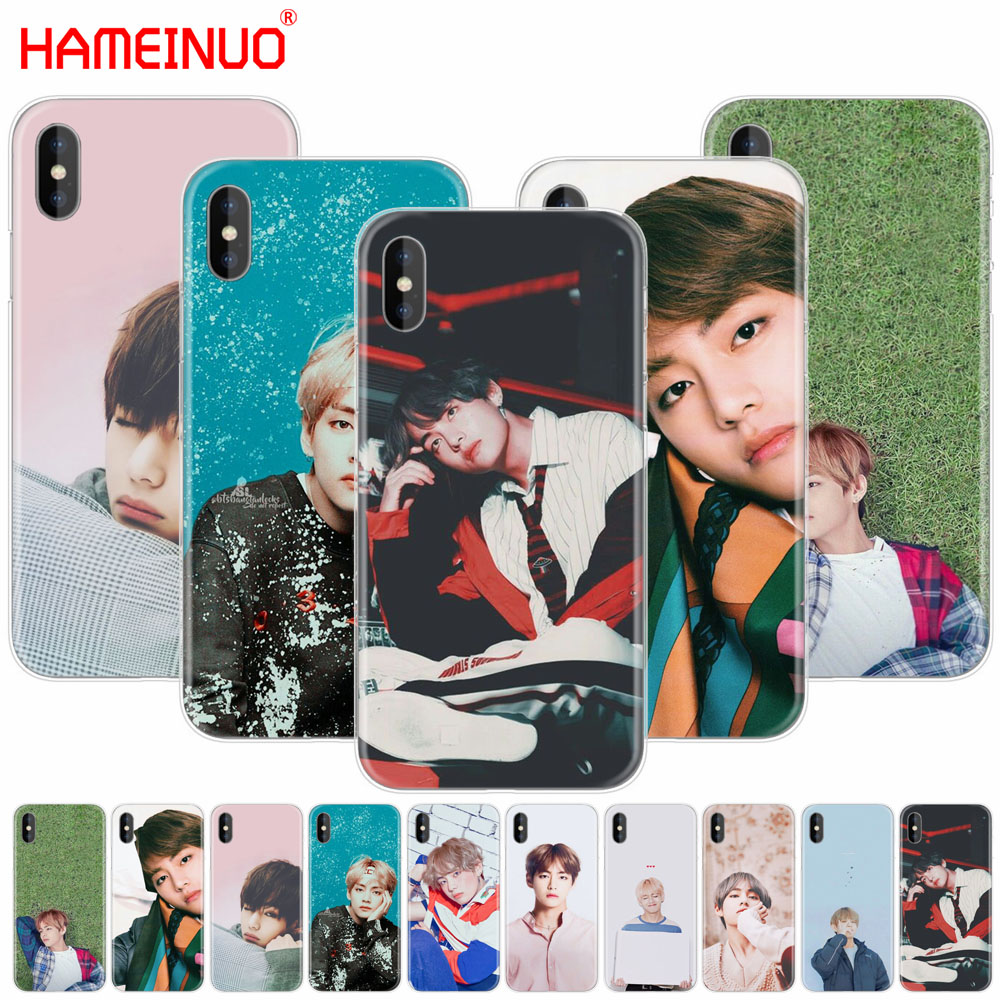 Phone Bags & Cases 2019 Fashion Hameinuo Bts Bangtan Boys V Fashion Newest Cell Phone Cover Case For Iphone X 8 7 6 4 4s 5 5s Se 5c 6s Plus