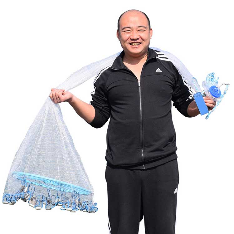 tHROW NET Old Salt Cast Net Throw tire Line Rotary Fishing Network Diameter With Blue professional hot cold anion hair dryer hair salon 1900w 220v household high power abs portable electric blower eu plug km 8906