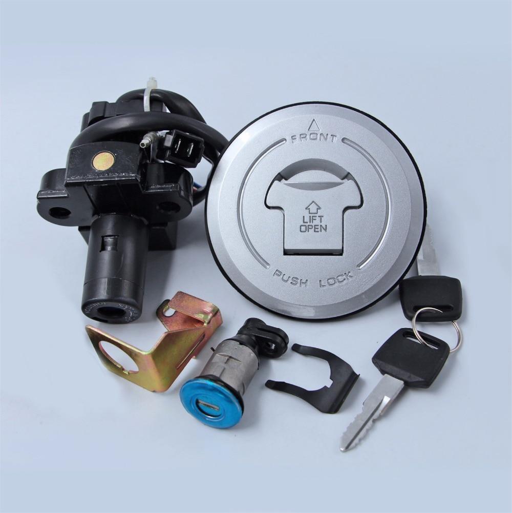 Переключатель зажигания газовая крышка ключ замок Набор для Honda CB600F Hornet 599 2003-2006 04 05 мотоцикл