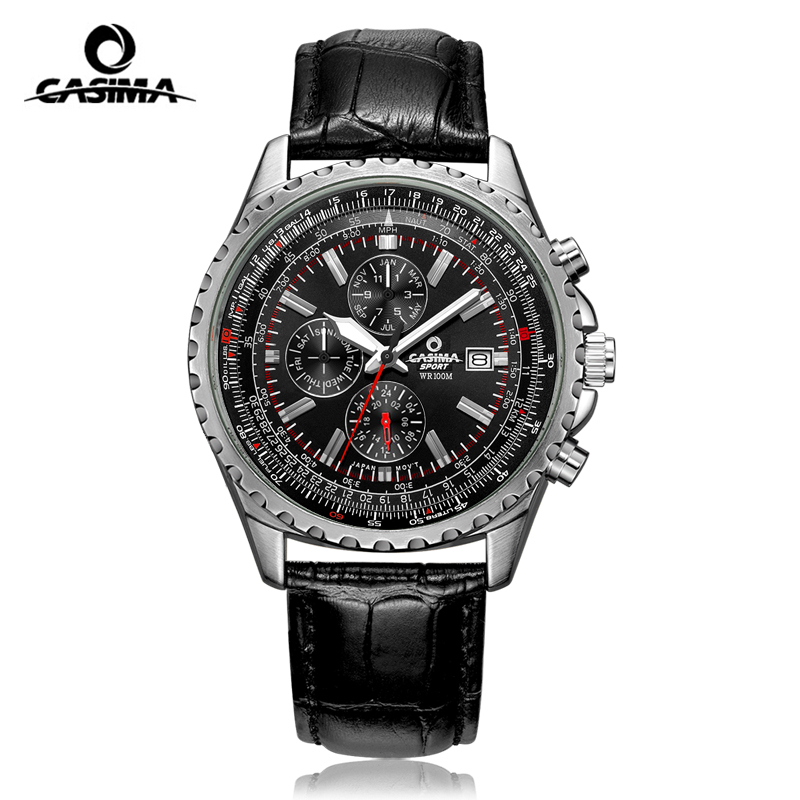 CASIMA Relogio Masculino Quartz Watch Men Watches Top Brand Luxury Luminous Wrist Watch Sport Military Clock Saat Montre Homme стикер paristic шарик 20 х 30 см