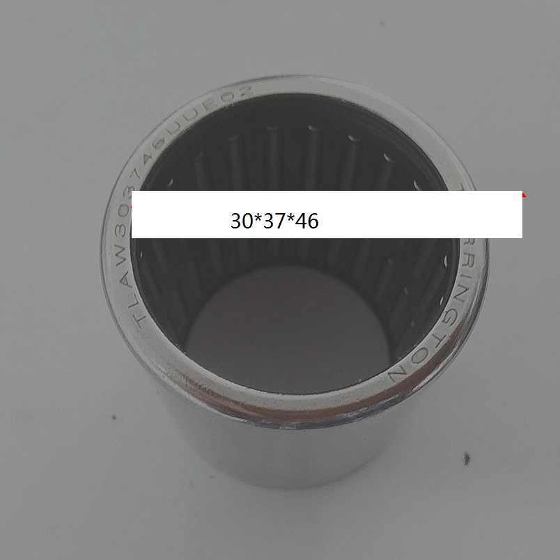 TLA303746 UU 2RS Drawn cup caged Needle roller bearings open end ,wtih seal the size of  30 *37*46mm for 1 8t 2 0t engine cooling water pump assembly fit vw jetta golf tiguan passat b6 octavia seat leon 06h 121 026 06h 121 026 ab