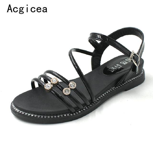 24f176fefd4a 2018-New-Summer-Elegant-Sandals-Women-Flat-Heels-Flats-Comfortable-Sunshine-Beach-sandal-Crystal-Bikini-Sandals.jpg_640x640.jpg