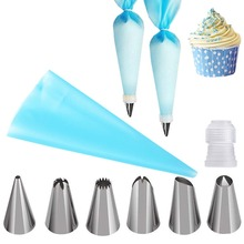 Nozzles Bakeware Pastry Cake-Decorating Cupcake And 8PCS -292483 Coupler Rose-Cream Icing-Piping-Tips-Sets