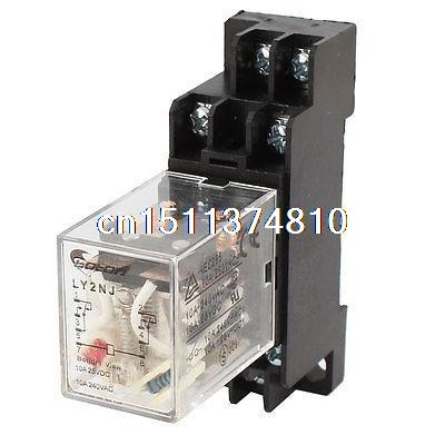 AC200V/220 V Spule 10A DP2T Motorsteuerung Elektromagnetische ...