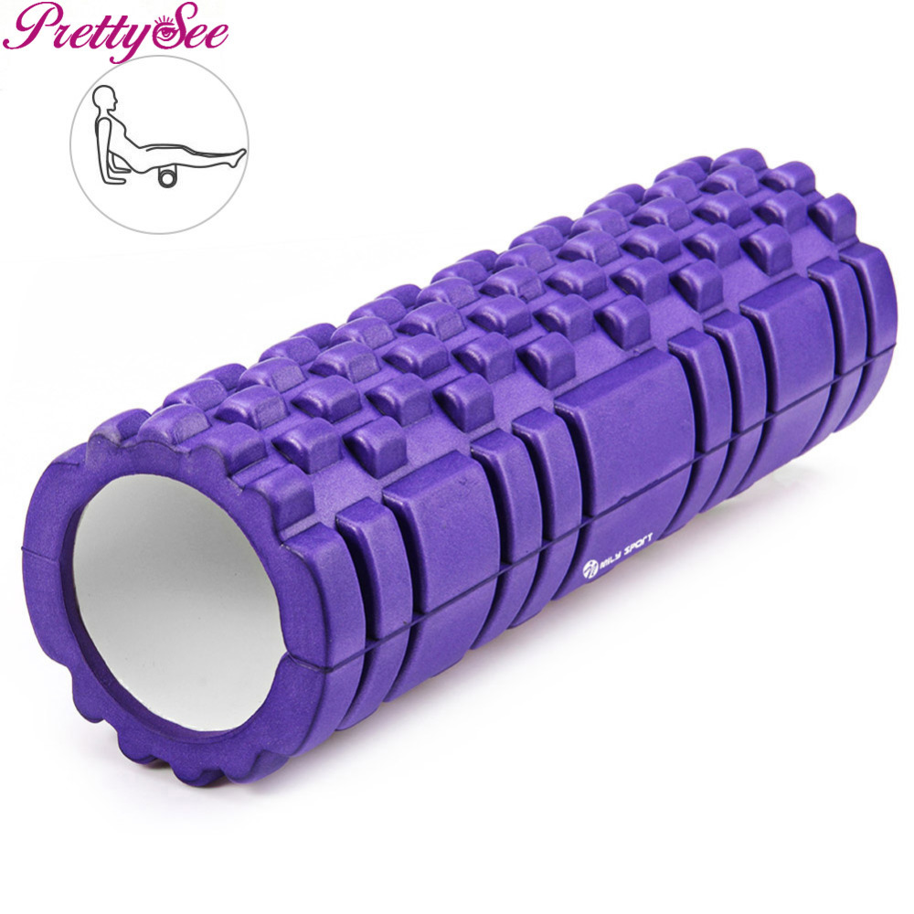 TOOLTOO Yoga Eva Foam Roller Fitness Muscle Stimulator Body Relax Muscle Stick Foot Roller Neck new yoga pilates exercise high density eva foam massage roller fitness home gym massage