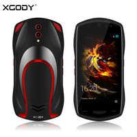 XGODY X25 5 Inch 3G Smartphone Android 8.1 1GB 8GB Quad Core Dual Sim 5MP Camera Car Model Mobile Phone 3000mAh WiFi Cellphone