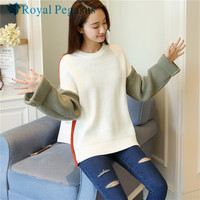 Sign Turtleneck Winter New Korean Version Of A Short Section Of Thick Loose Sweater Coat Hedging