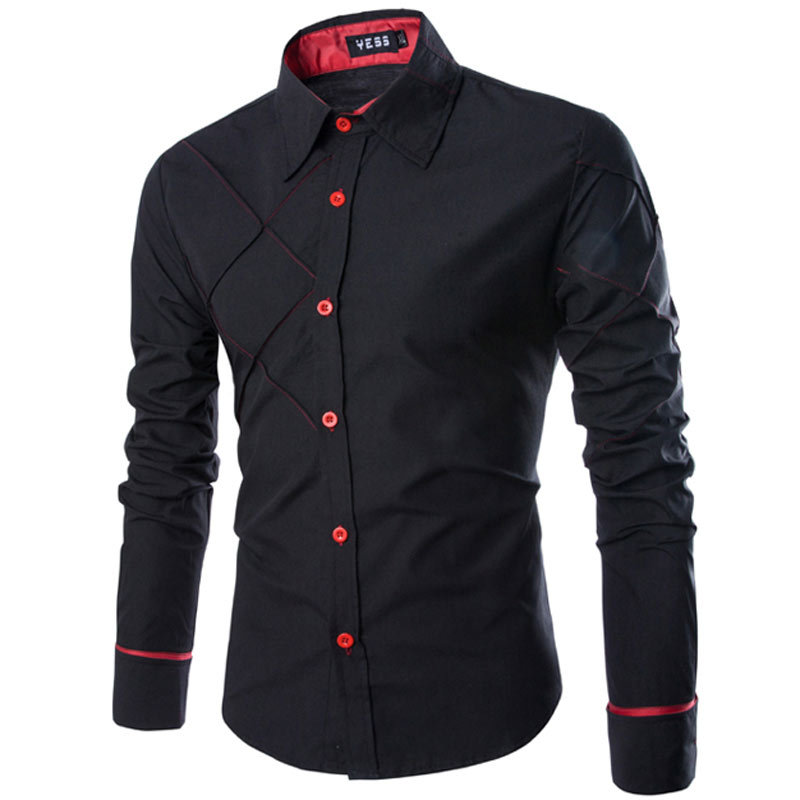 High Quality Stylish Black Shirt Promotion-Shop for High Quality ...