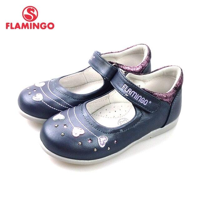 Фламинго новая Арка стопы Дизайн Весна и лето крюк и петля открытый размер 24-29 Школьная обувь для девочек Бесплатная доставка 82T-XY-0831