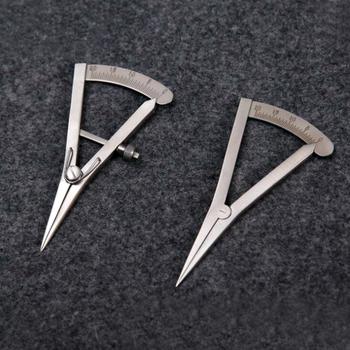 Skóra sztuka rzemiosło i szycie skórzane rzemiosło skórzane urządzenie do znakowania przestrzeni tanie i dobre opinie spacing compass Leather Marking gauge