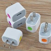 1.5A светодиодный настенный адаптер переменного тока с usb-разъемом настенное зарядное устройство для дома адаптер питания для iPhone/samsung/htc