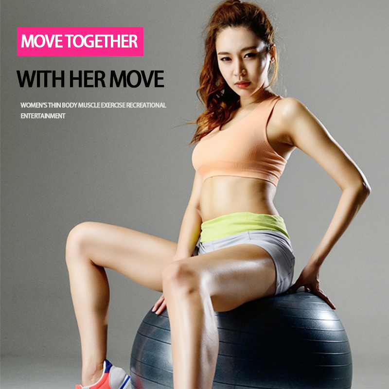 2016 hotsale yoga ball 55cm GYM Physical fitness lose weight ball Pregnant woman sport home training Exercise balance ball