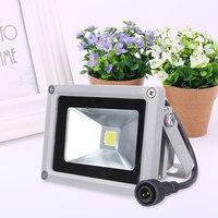 10W USB Solar Power LED Flood Night Lights Garden Waterproof Outdoor 800LM