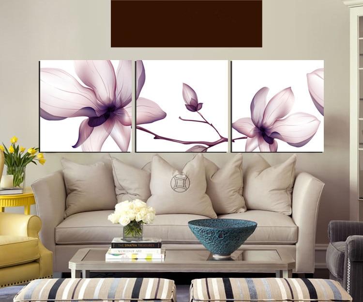 Venta caliente 3 unidades impresiones en lienzo pared arte imagen - Decoración del hogar