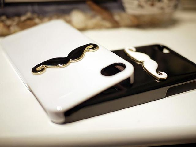 wholesale case for iphone4/4s  by Mustache Phone Covers Hard free shipping