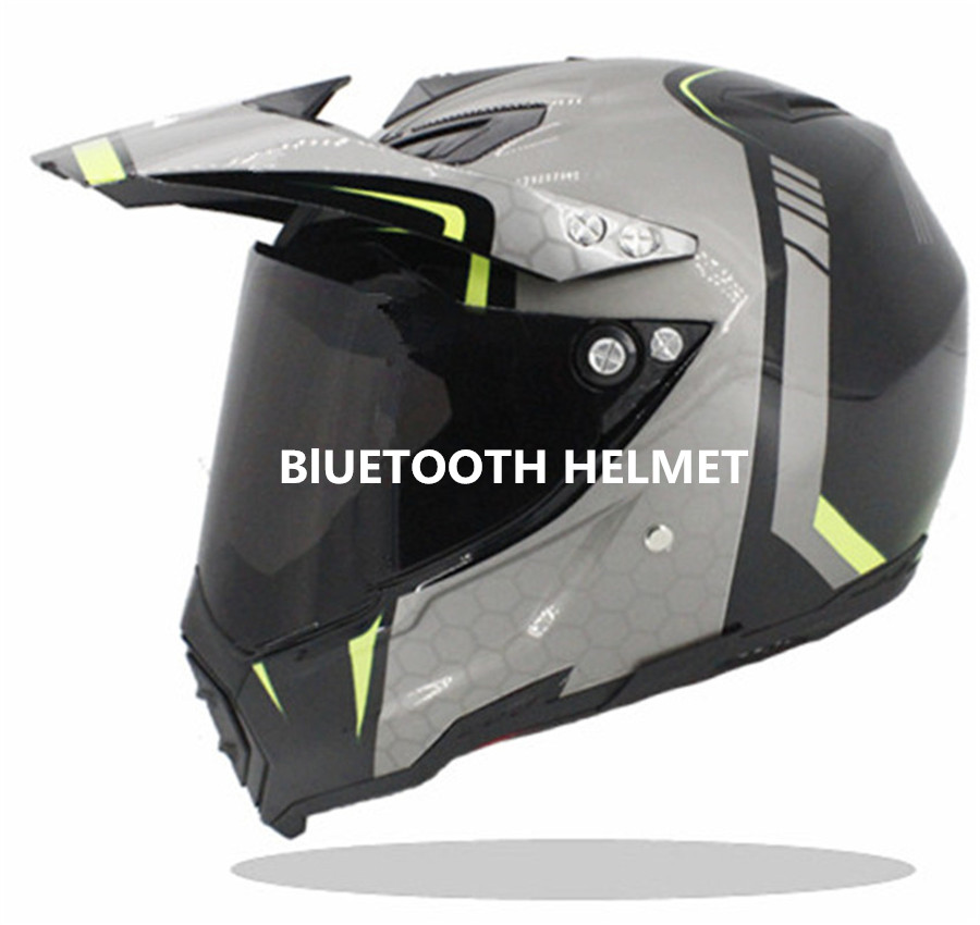 Gloss Black Bluetooth Compatible High Performance Full Face Street Motorcycle Helmet with Retractable Shield Original Design боб дилан dylan bob another side of bob dylan lp