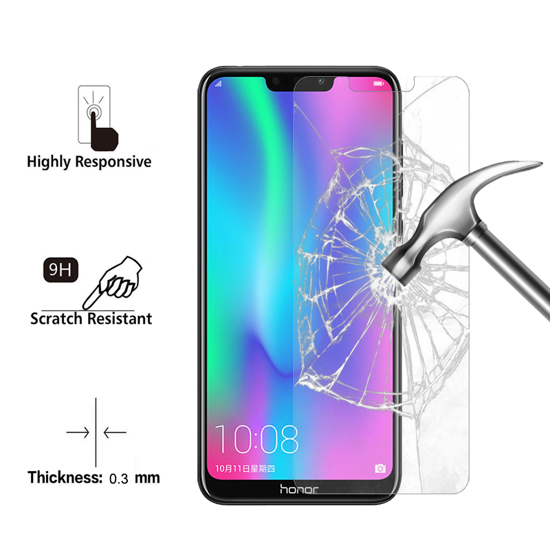 1Pcs 2Pcs 0 26mm Tempered Glass For Huawei Honor 8C 8X 8 Lite Super Saver Screen Protector Hard Film On Note 8 Protective Glass in Phone Screen Protectors from Cellphones Telecommunications