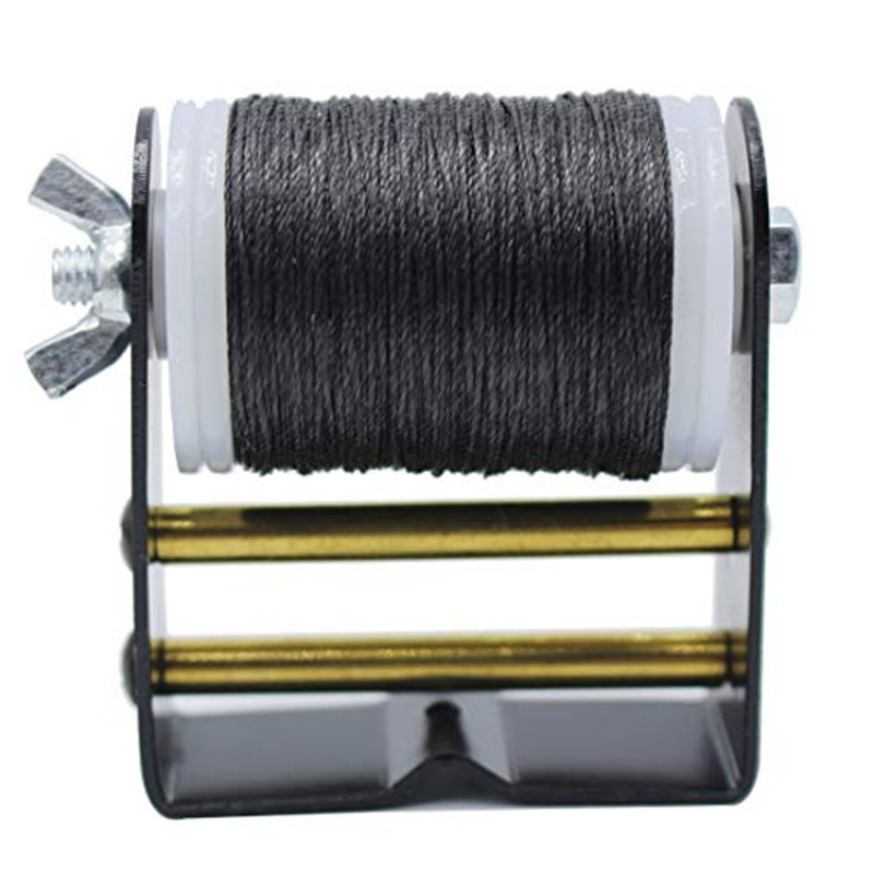 Bowstring serving Winder Tool and Spool Anti-wrestling Thread Cable Winder Rope Repair String archery Bow String title=