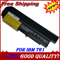 JIGU Laptop Battery For IBM/lenovo ThinkPad T400 2765 R400 7443 R61 7738 T61 7661 T61 7660 R61 7742 R400 T400 R61 T61 R61i T61u
