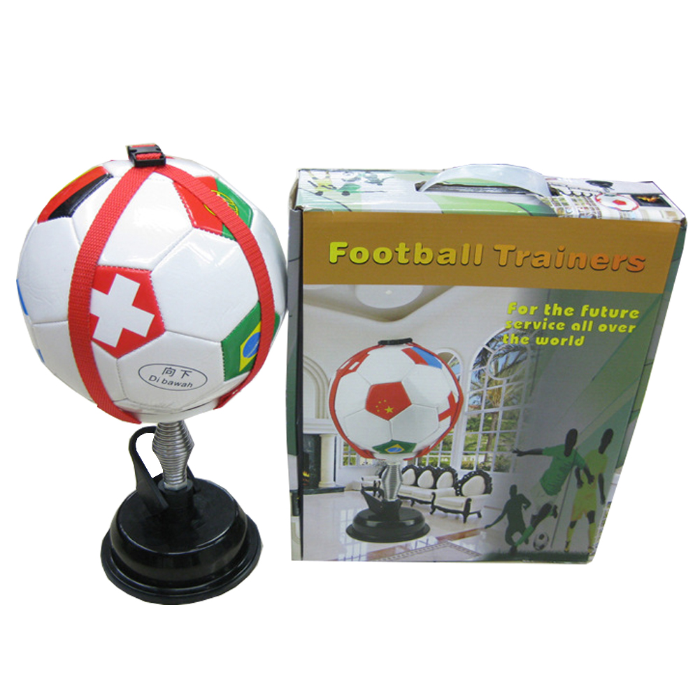 Neueste welt Fußball indoor trainingsgeräte fußball kick ball speed trainer soccers Praxis trainer Sport Unterstützung produkt