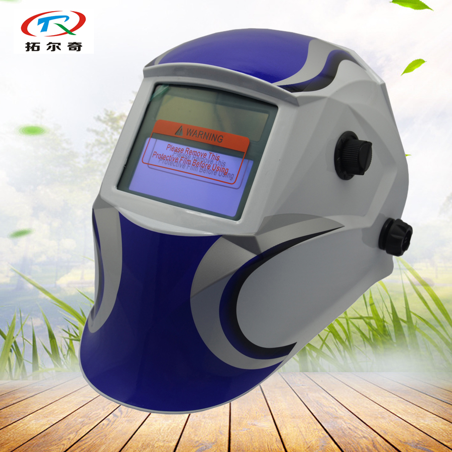 welding helmet Tig Mig auto darkening Full Face and Eyes Protect Welding Mask Solar and battery Grinding Function JD04(2233DE)
