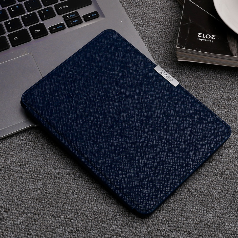 Ultra Thin Luxry Leather 6 Case cover Anti-dust Bracket flip Case For Kindle Paperwhite 6 inch Tablet hard Shell promotion pu leather ebook case for kindle paperwhite paper white 1 2 3 2015 ultra slim hard shell flip cover crazy horse lines wake sleep