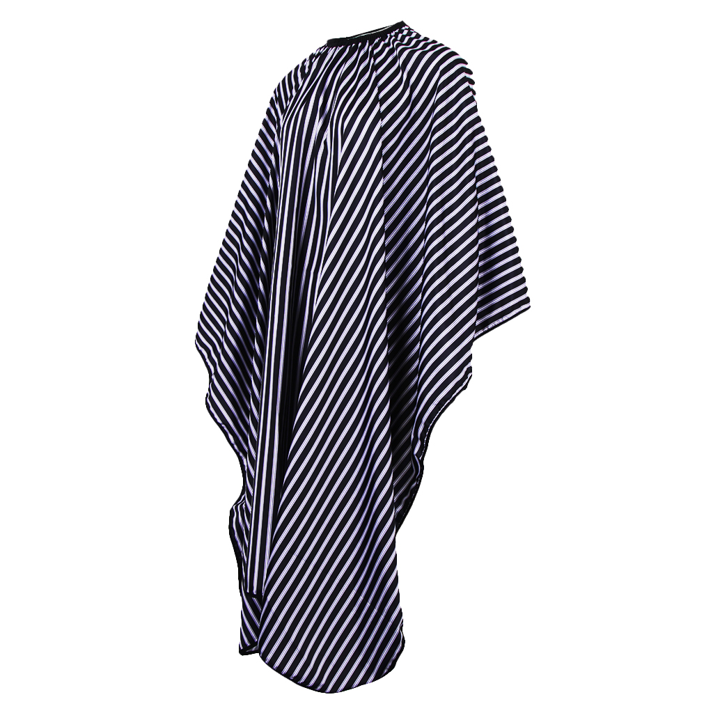 Barber Salon Professional Styling Hairdressing Polyester Cape Gown with Adjustable Strap 62 x 55 Inch(China)