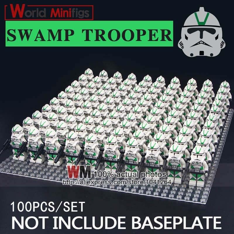 100 pcs/lot Bausteine Clone Trooper Sumpf Trooper Corps Trooper Pädagogische Geschenke Spielzeug für Kinder-in Sperren aus Spielzeug und Hobbys bei  Gruppe 2