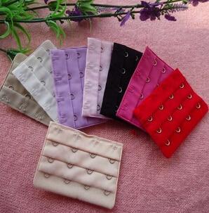 4 PCS 4 Hooks  11 Colors Bra Extender Strap Extension Intimates Accessories Replacement Bra Extender For Women