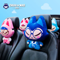 ZhuaiMao lovely car neck pillow car headrest the Chinese original animation brand PP cotton with soft material fabric