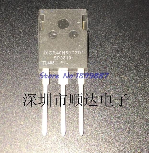 10pcs/lot IXGR40N60C2D1 40N60C2D1 IXGR40N60 TO 3P In Stock