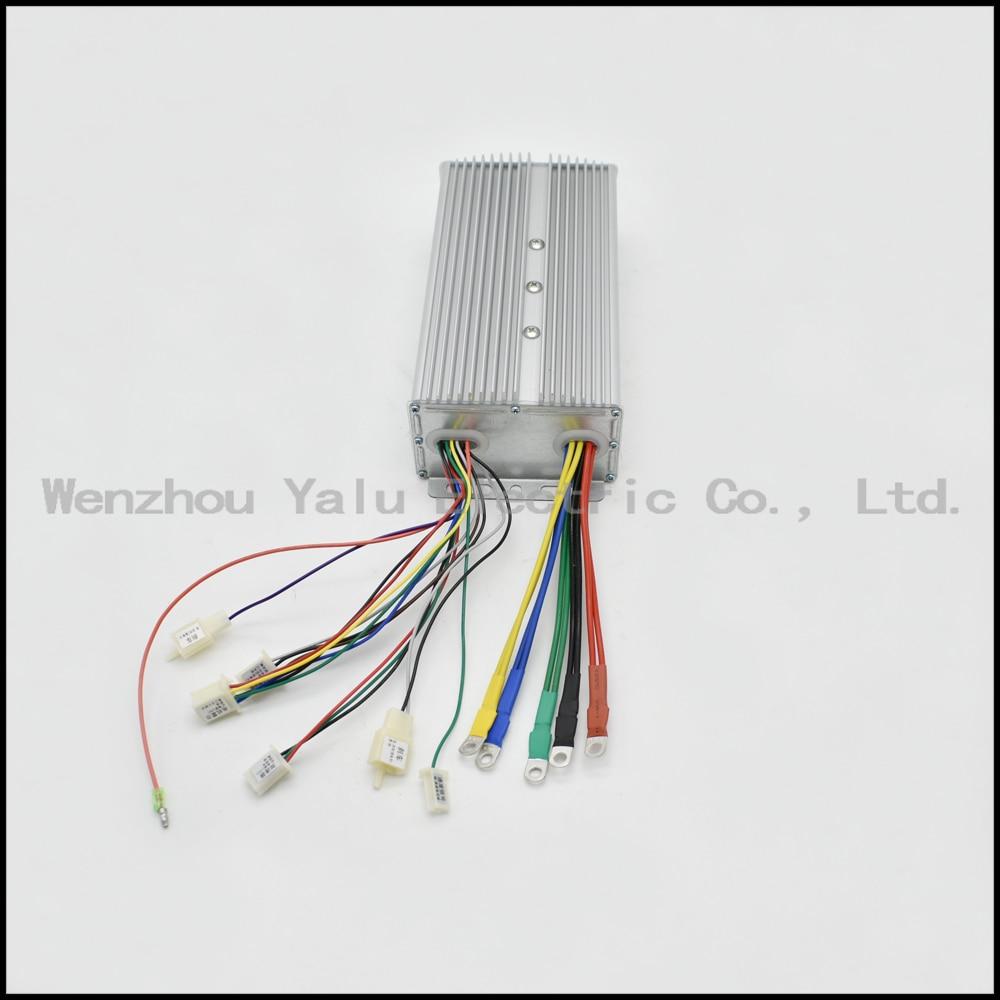 Kontrollues inteligjent pa furça për tub 1000W 48V 60V 24Power për - Çiklizmit - Foto 6
