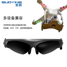 Cdragon VRเครื่องFPV VRแว่นตารุ่นตาวิดีโอเลนส์ติดตั้งจอแสดงผลAVอินเตอร์เฟซ