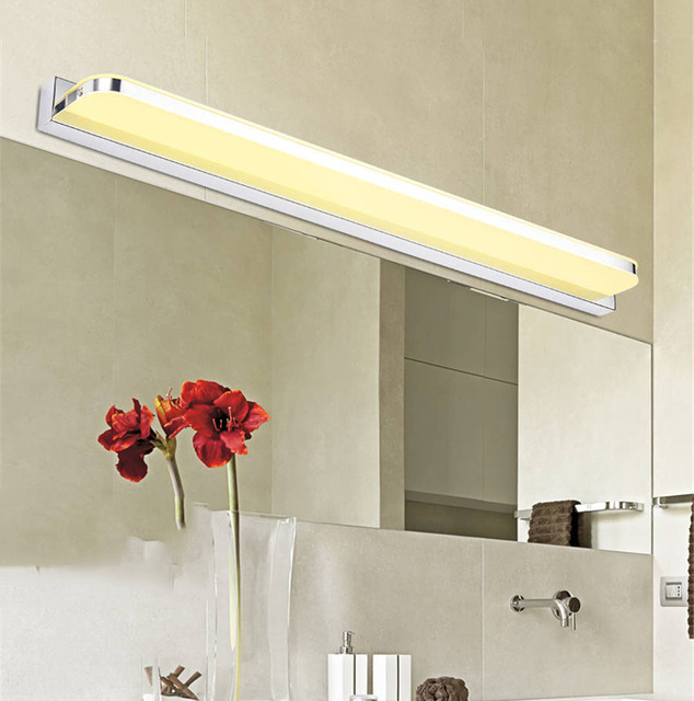 7W 42CM LED Mirror Light AC220V Modern Cosmetic Acrylic Wall lamp Bathroom Lighting Waterproof Fog-proof For Bathroom Bedroom