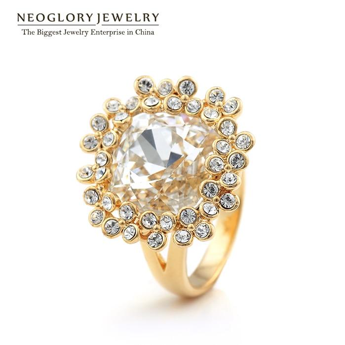 Swarovski Elements Wedding Rings
