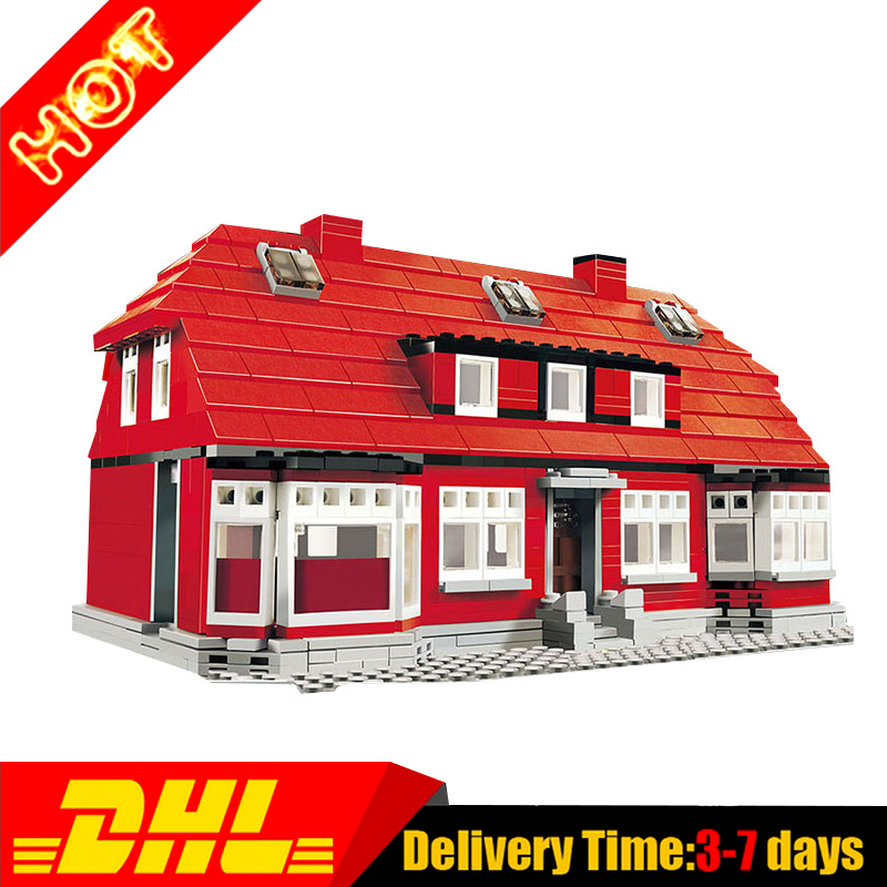 New Lepin 17006 928Pcs Kirk's House RARE Limited edition Model Building Kits Set Blocks Bricks Compatible Toys 4000007 lepin creator home 17006 928pcs the red house set model 4000007 building kits blocks bricks educational toys for children gifts