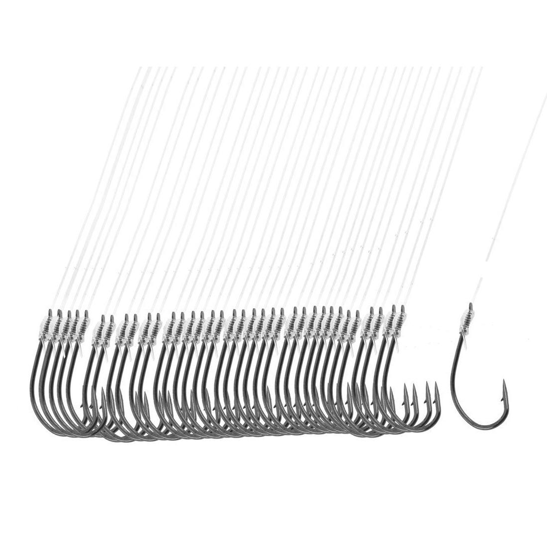 40-pcs-20-long-font-b-fishing-b-font-line-8-darl-gray-metal-fish-hooks