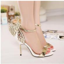 Butterfly Wings high heel pumps