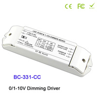 BC 331 CC LED Dimming Driver 0 10V Constant current strip LED PWM dimmer 350/700/1050mA max 2400mA dimming driver