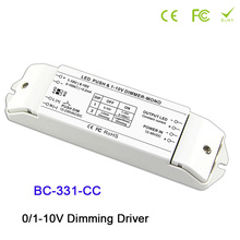 цена BC-331-CC LED Dimming Driver 0-10V Constant current strip LED PWM dimmer 350/700/1050mA max 2400mA dimming driver