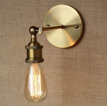 Retro Loft Stil Edison Wand Leuchte Einfache Vintage Wand Leuchten Industrielle Wand Lampe Für Home Beleuchtung Arandela|industrial wall lamp|wall lampedison wall sconce -