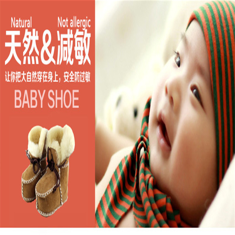 Hongteya-Winter-genuine-leather-Snow-Wool-boots-for-Baby-Newborn-warm-shoes-infant-toddler-soft-sole-First-Walkers-booties-4