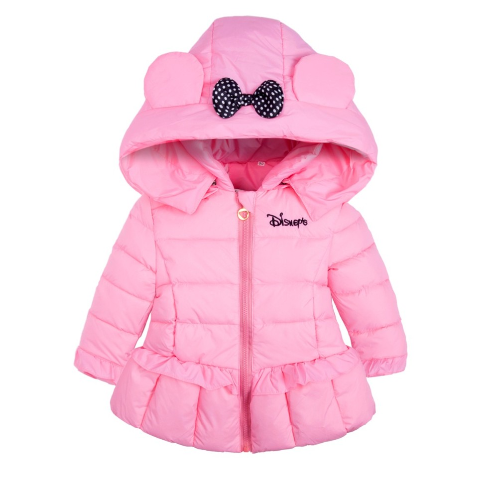 Bibicola Children Outerwear Baby Girls Bow Jacket Children