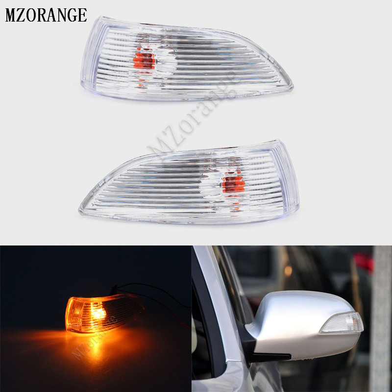 MZORANGE Rear View Side Mirror Lamp for Hyundai Elantra 2011 MONICA i30 Left / Right Car Rearview Mirror Turn Signal light right left side rear view mirror led