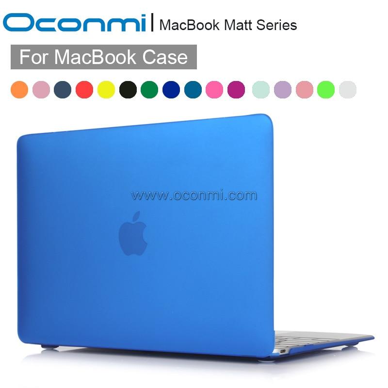 цена на Matt Hard Case For Apple macbook Air Pro with Retina 11 12 13 15 inch Half Transparent slim cover for Macbook Air 13 case 2016