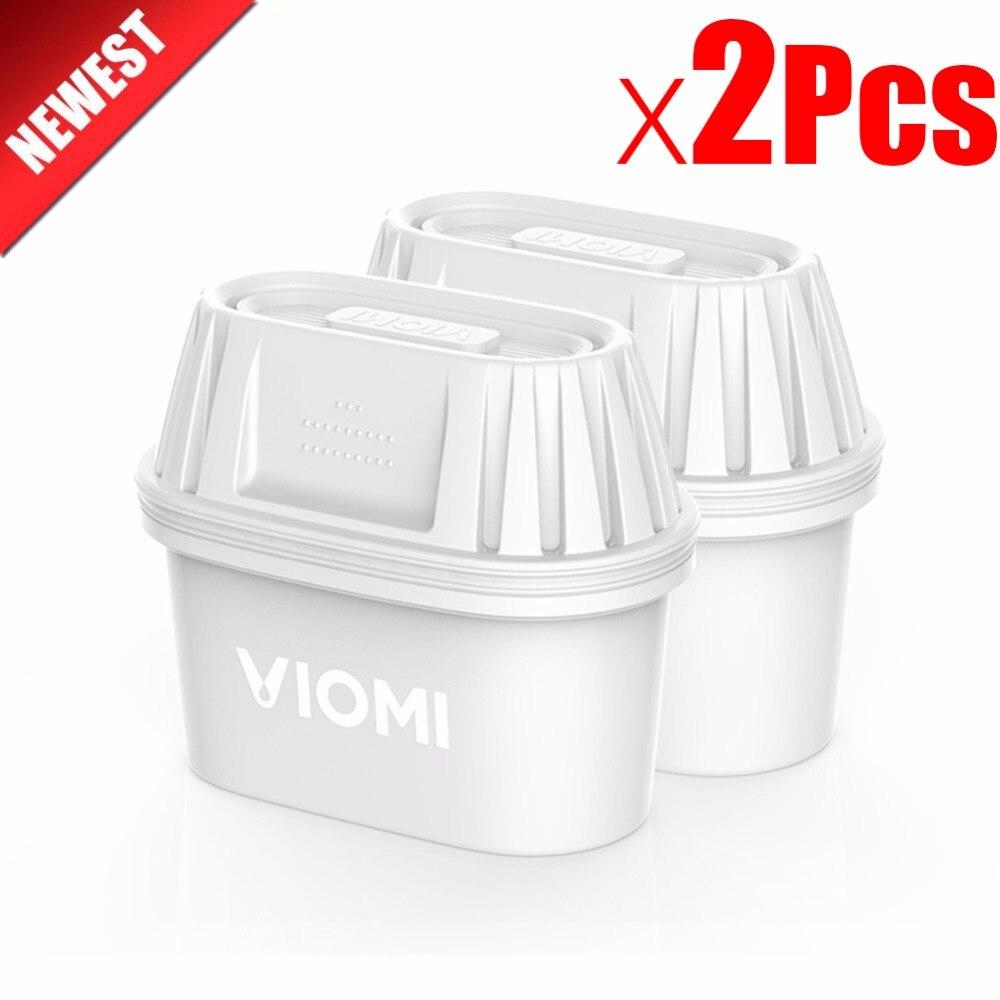 2 Pcs Xiaomi VIOMi bouilloire Pichet De Filtration Filtres À eau Activé Carbone Résine Échangeuse Filtres Sain propre dispositif