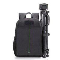 FLYLEAF Camera Backpack DSLR SLR Camera Bag Camera Case Waterproof Bag Multi functional Digital DSLR Camera Video Bag
