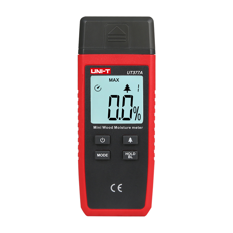UNI T UT377A Digital Wood Moisture Meter Used as Humidity Tester for Paper Plywood and Wooden Materials